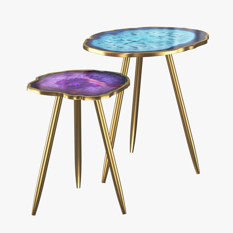 Table Imitation Agate