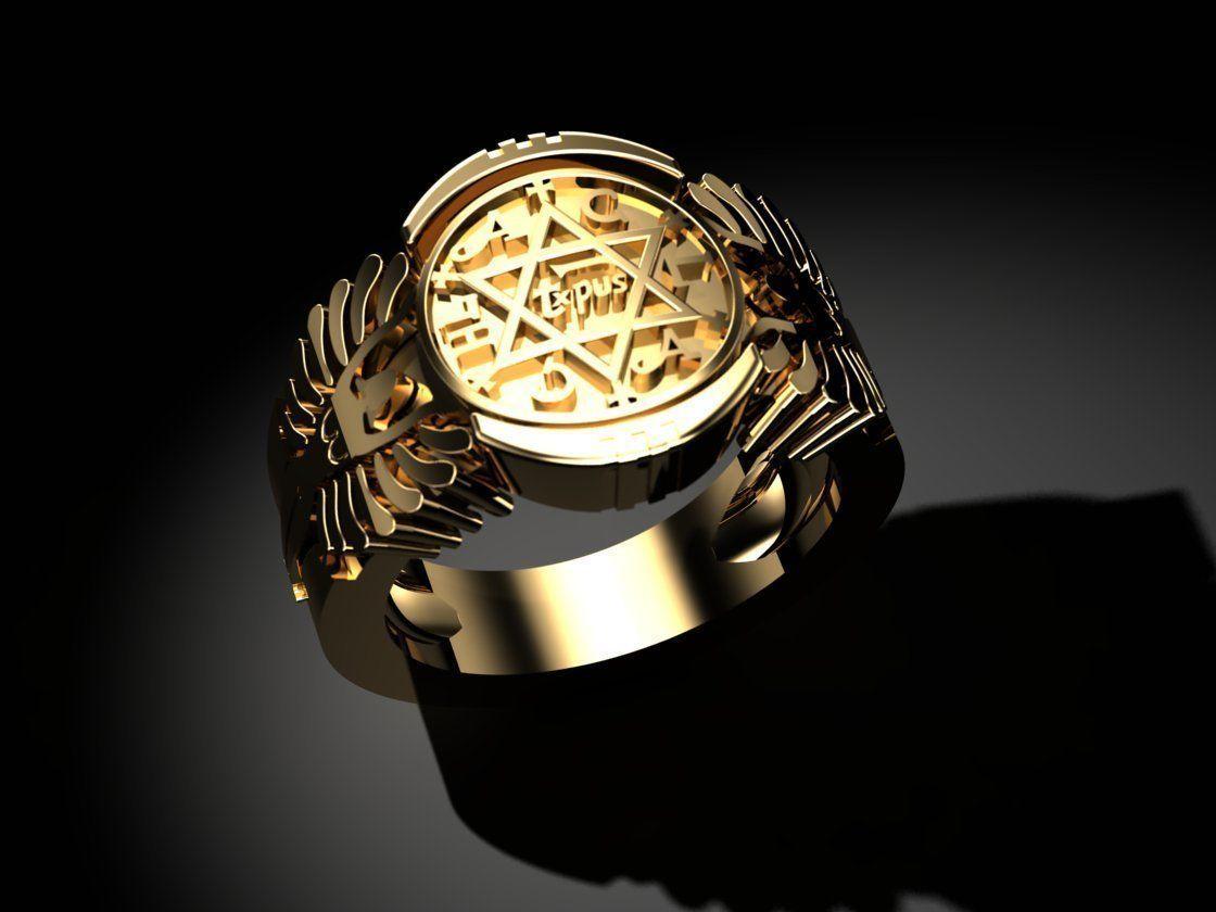 King of Solomon ring 3D printer model