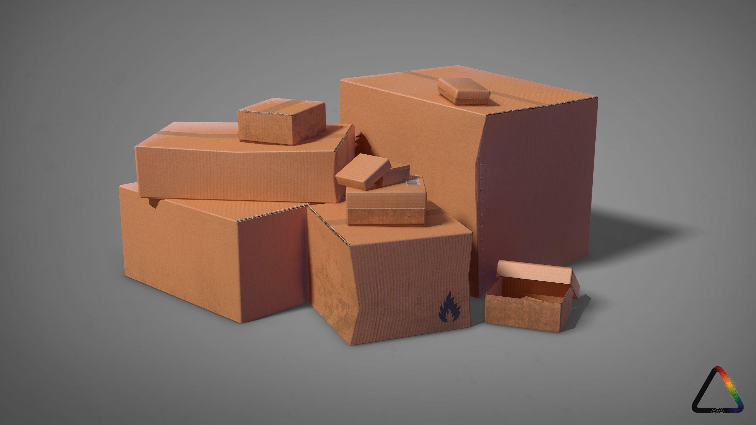 Cardboard Box Pack