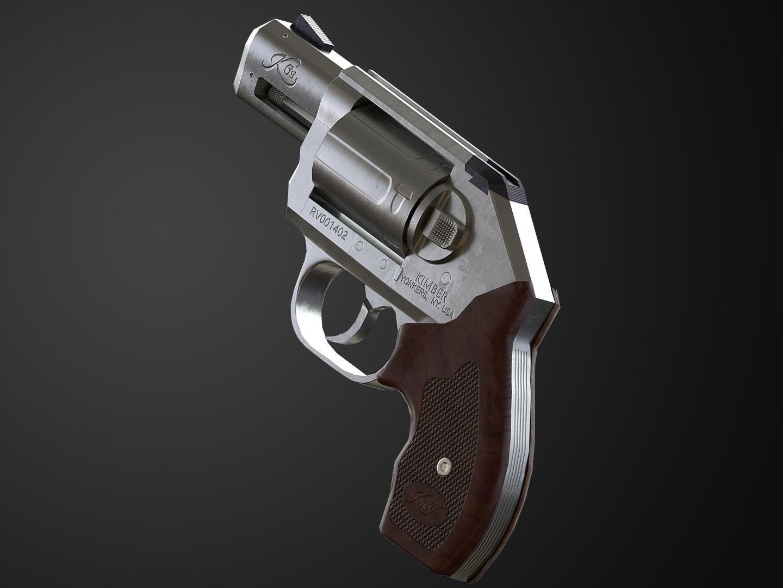 Kimber K6s Game Ready Revolver | 3D model