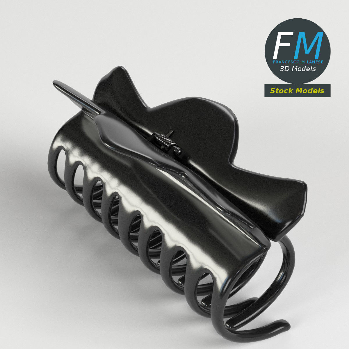 Claw hair clip