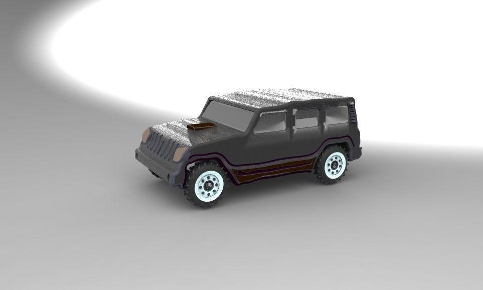 3D model MAHINDRA SCORPIO   CGTrader
