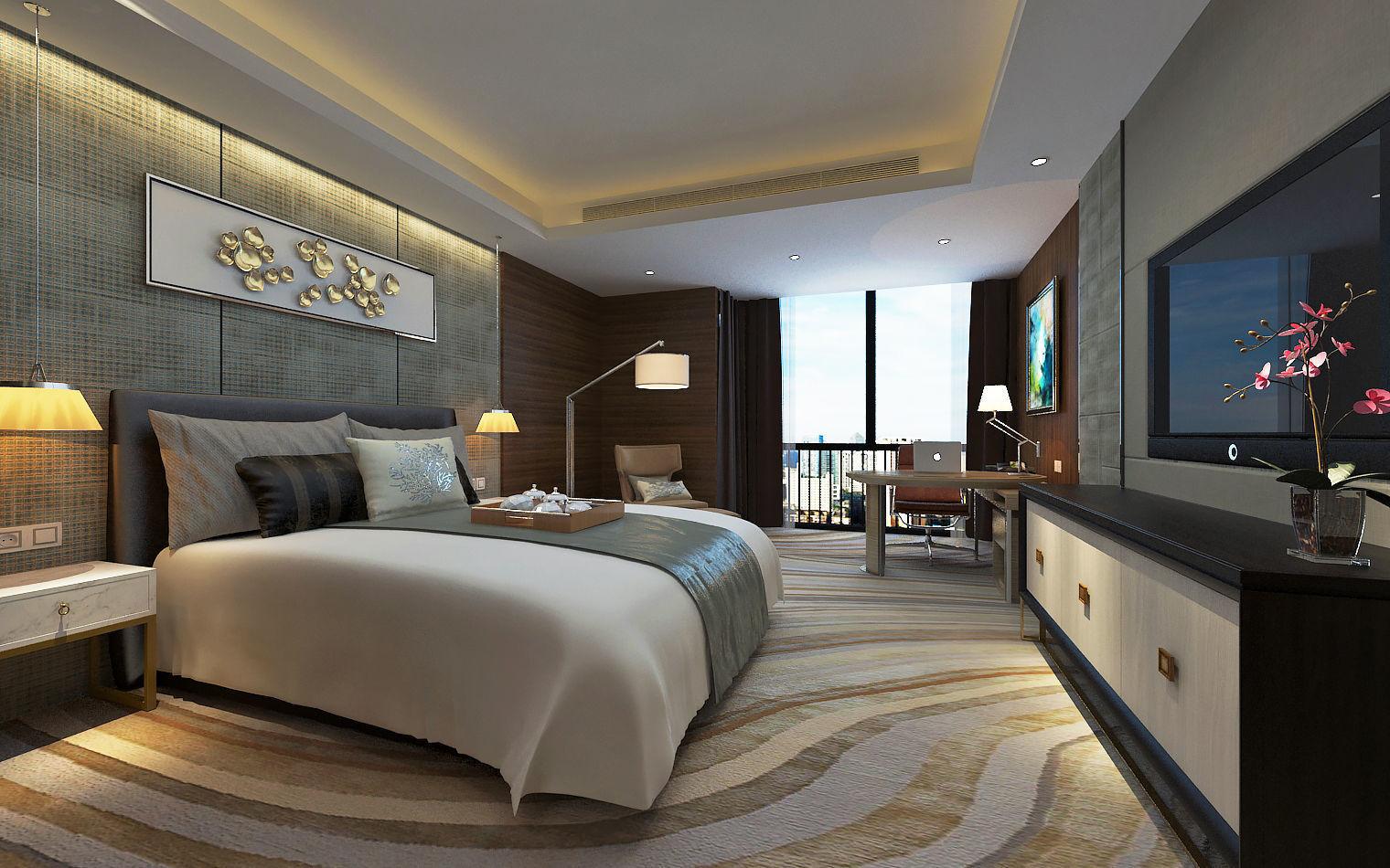 Design Hotel Bedroom Modern Design