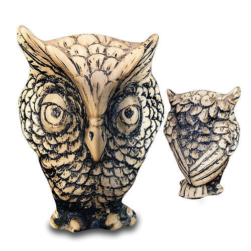 macespace - decorative stylized owl decor 3d model max fbx 1