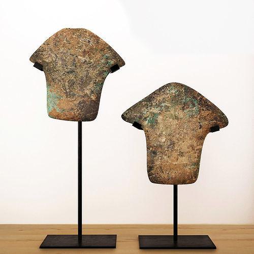 arrowheads excavated 3d model max fbx 1