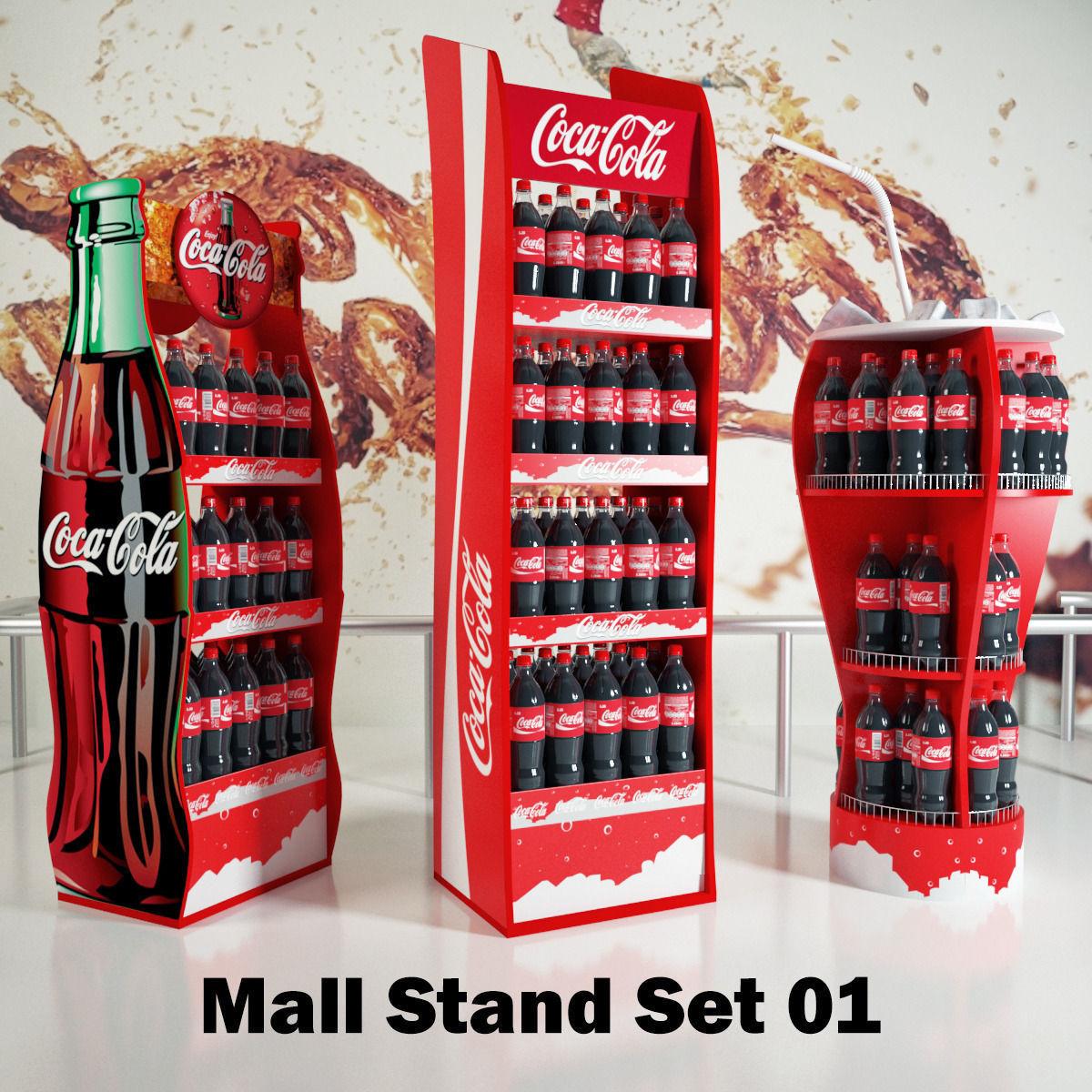 Mall Stand Set 01