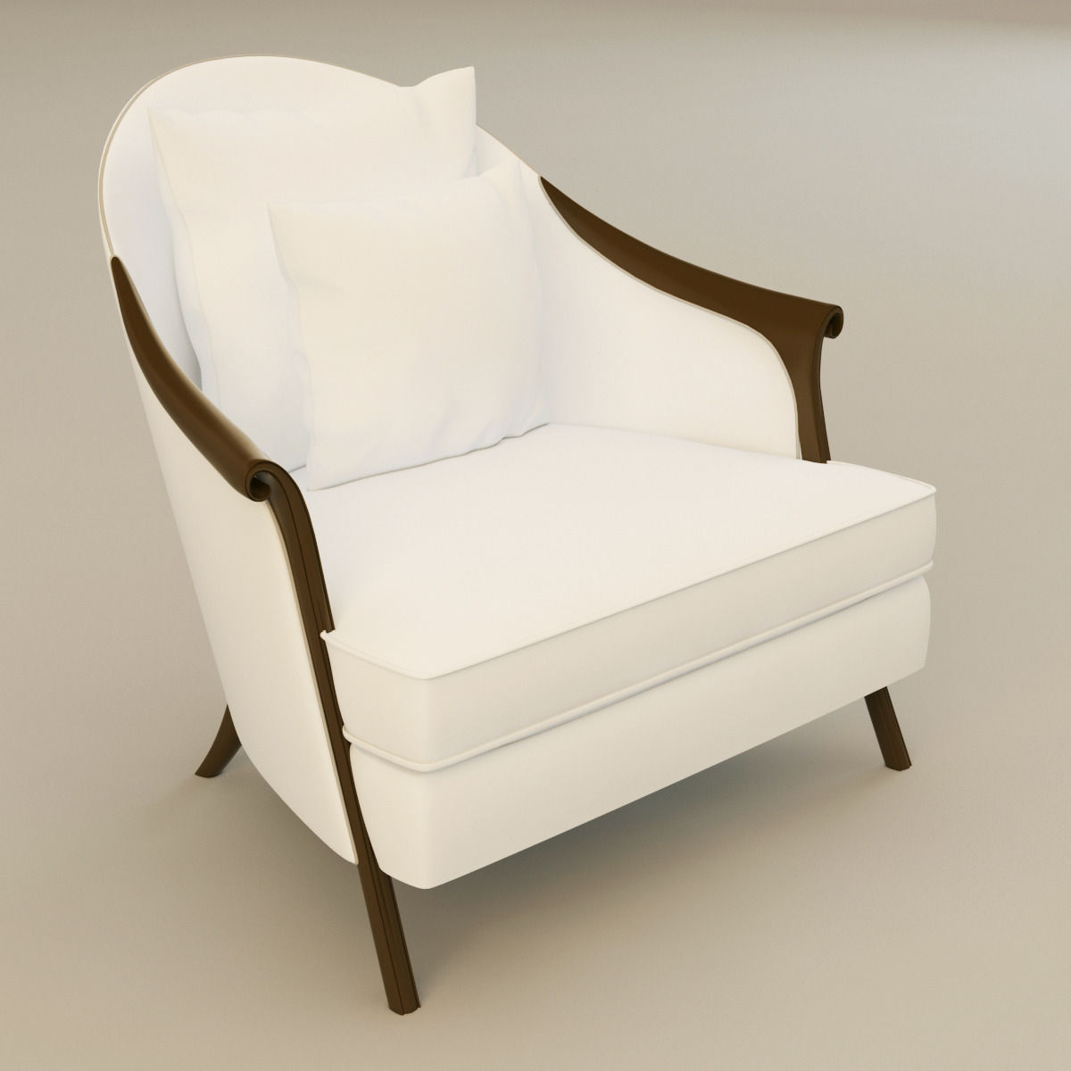Attractive Christopher Guy Poltrona Armchair 3d Model Max Obj 3ds Fbx Mtl 1 ...