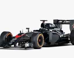 F1 Mclaren Honda MP4-30 Formula 2015 3D Model