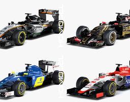 3D F1 Season 2015 Formula Collection 02