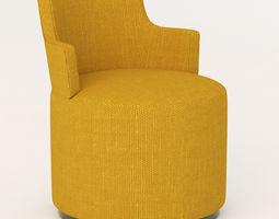 potocco curva chair 3D model