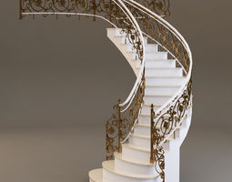 3d classical staircase