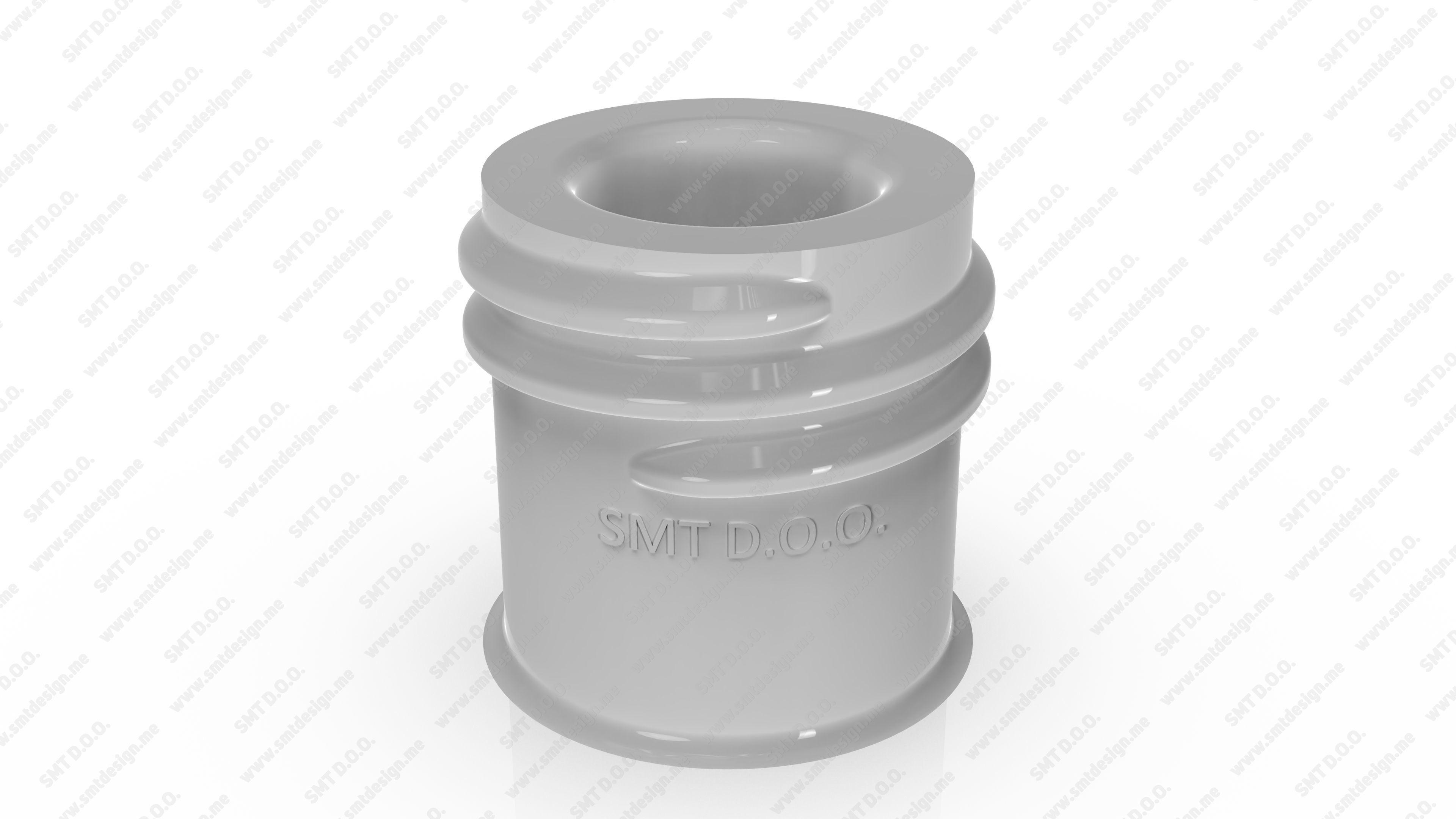 Neck of PET Preform - SP - 415 - 22 - M