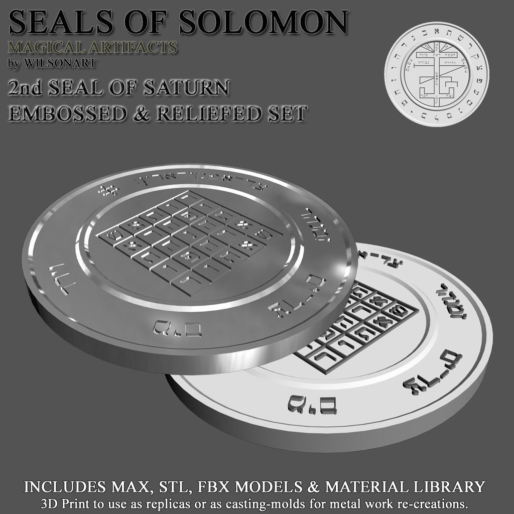 2nd Seal of Saturn