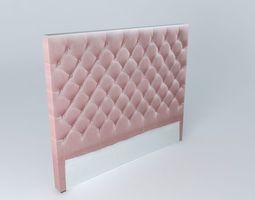 3d model headboard chesterfield small houses of the world