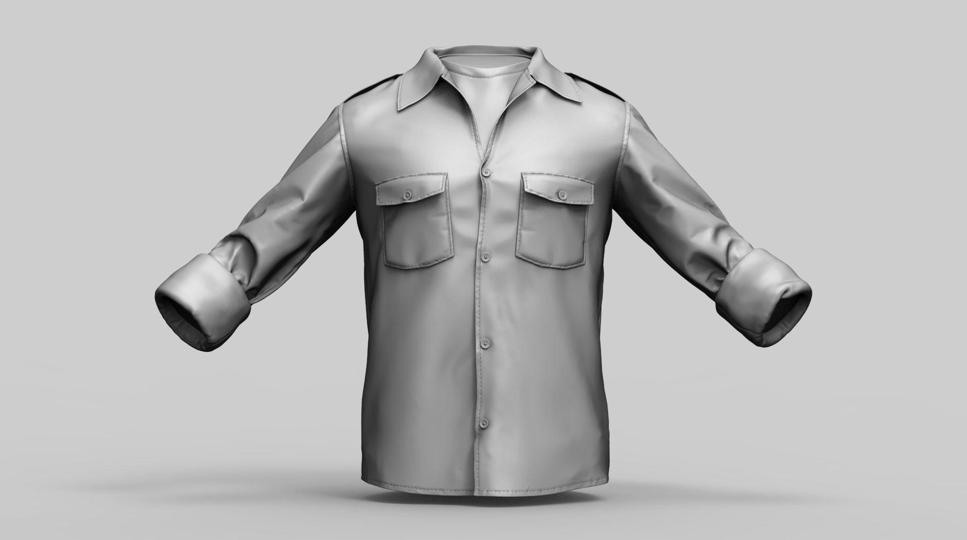 Qualitative Zbrush 3d model of Mens