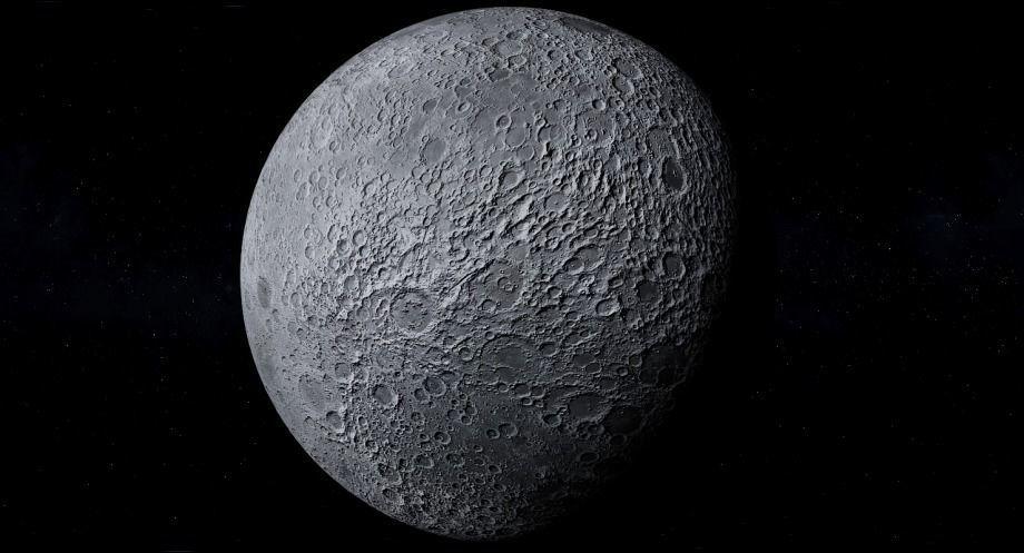 Moon Photo realistic 2k resolution   3D model