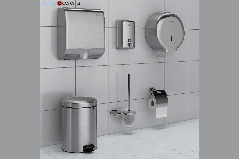 Bathroom Accessories Set 43 Ravak