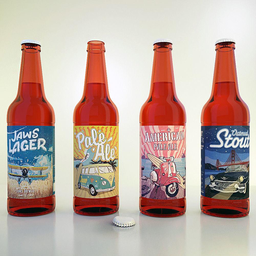 Jaws Beer Set