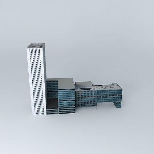 erasmus mc 3d model max obj mtl 3ds fbx stl skp 1
