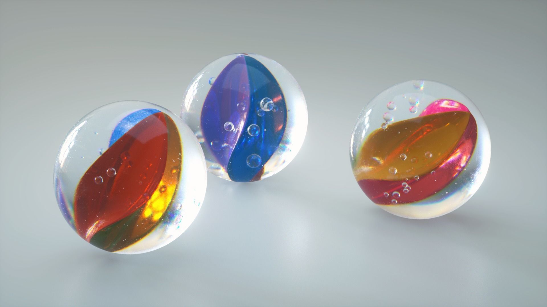 Marbles glass