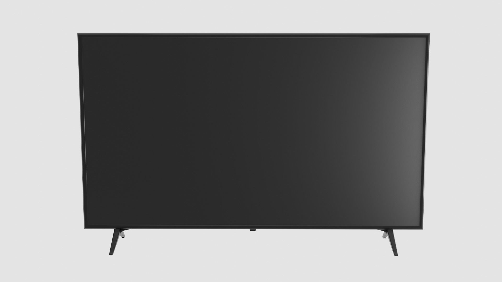 TV LED Low Poly