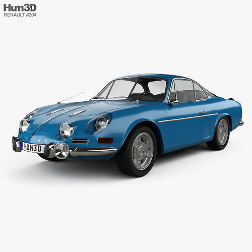 Renault Alpine A110 1600S 1972