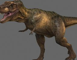 tyrannosaurus rex -maya 3d animated