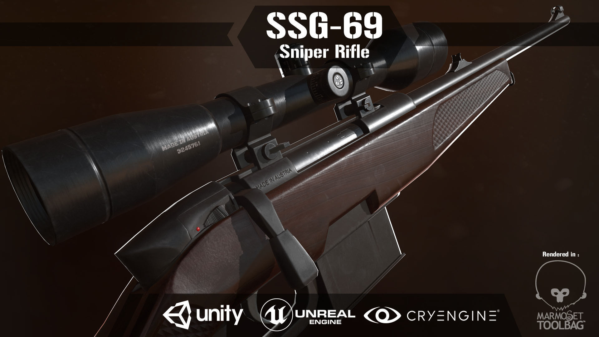 SSG 69 Sniper Rifle