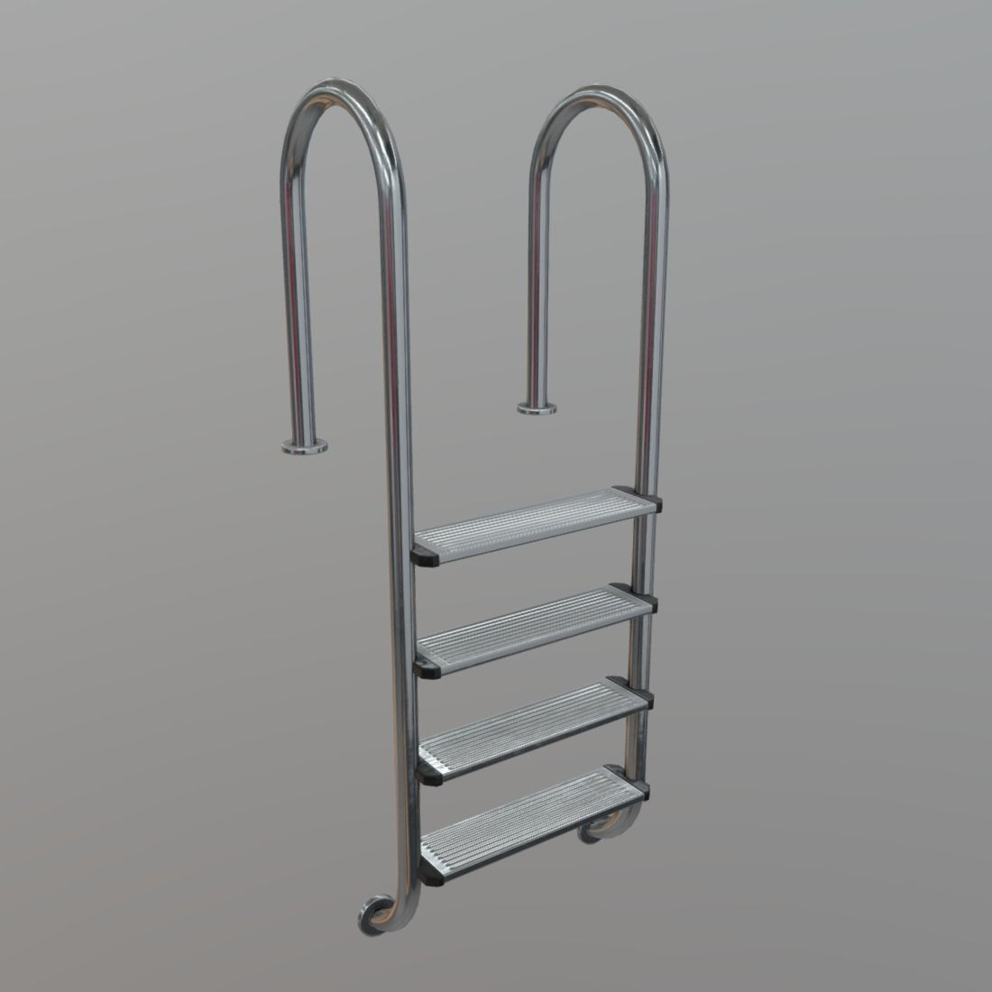 Pool Ladder 3D Asset