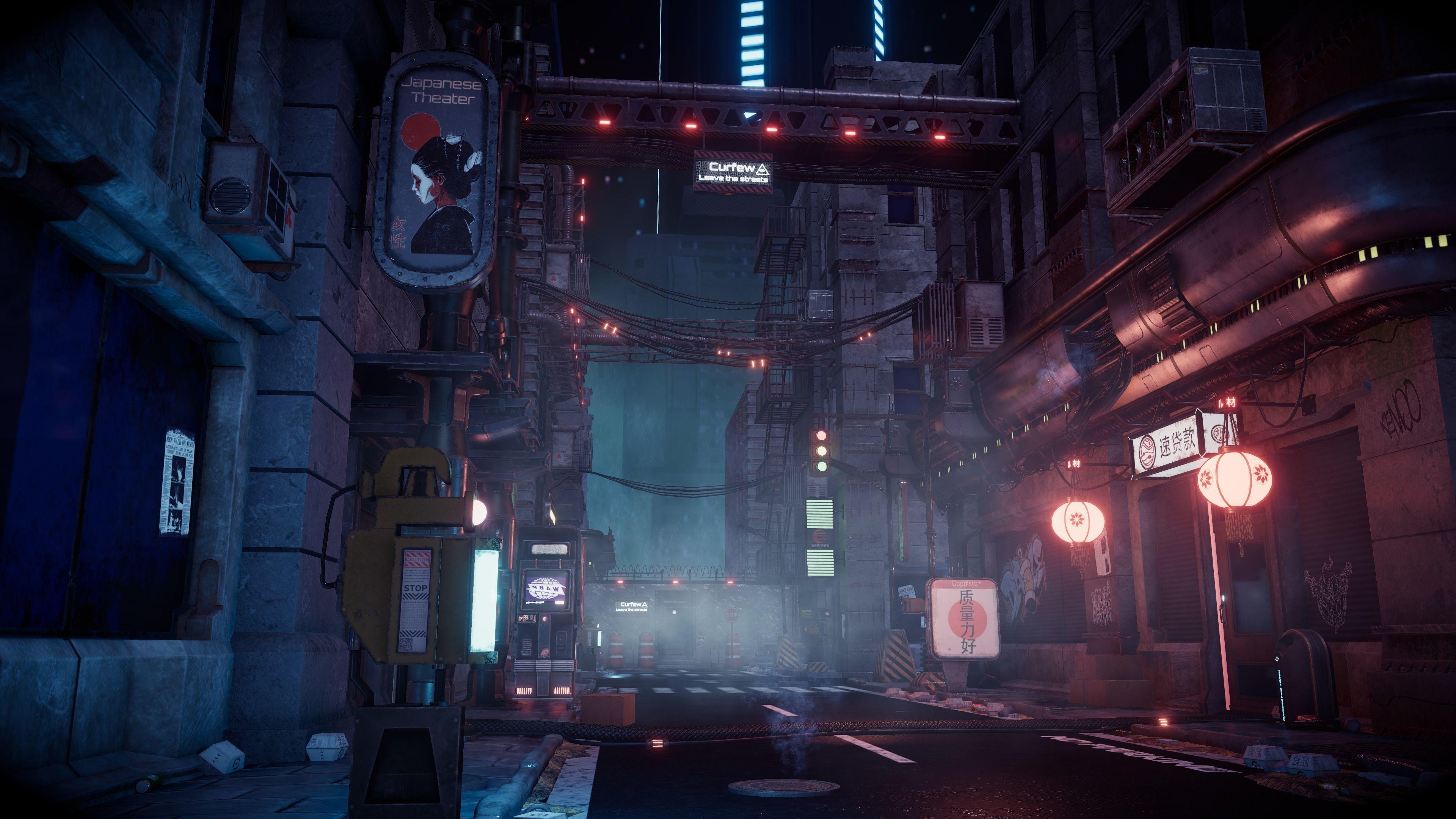 Cyberpunk City Modular Kit Kitbash