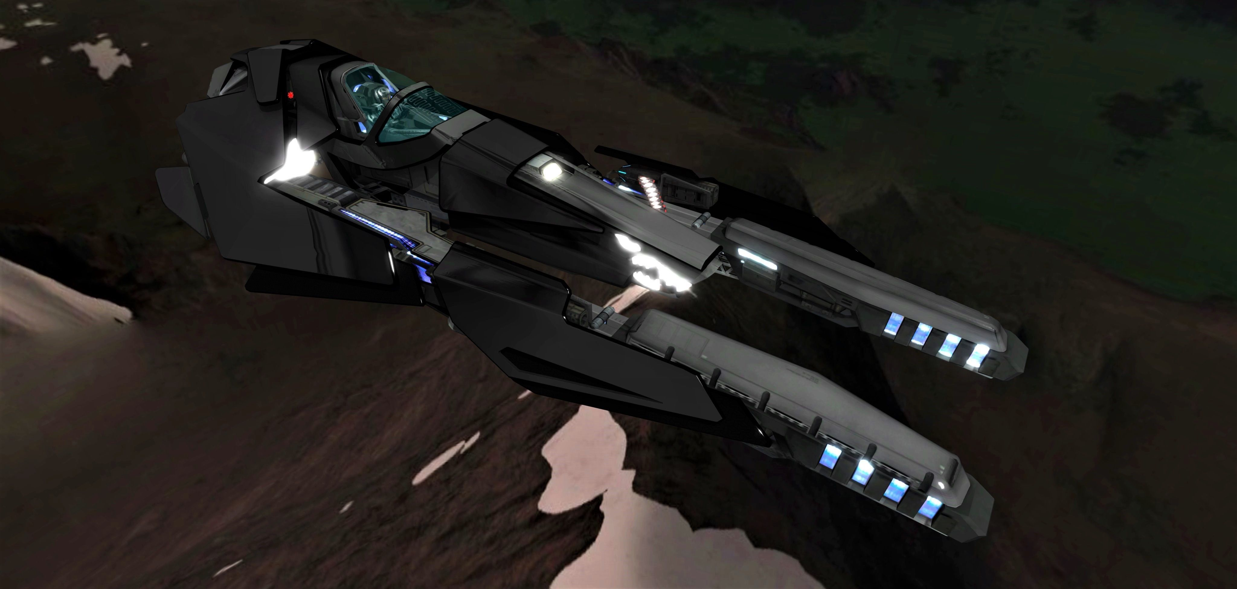 WIPE OUT - TRIAKIS F SPACE FIGHTER | 3D model