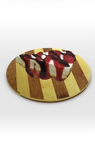 Tofu cheesecake 3d model | 3D model