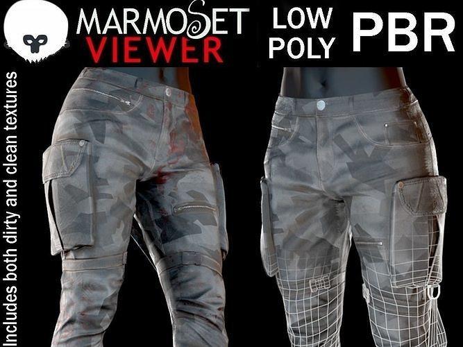 Combat Cargo Camo Pants