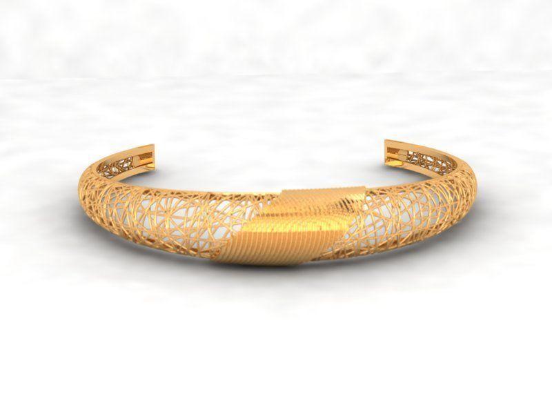 Llightweight golden bracelet V4