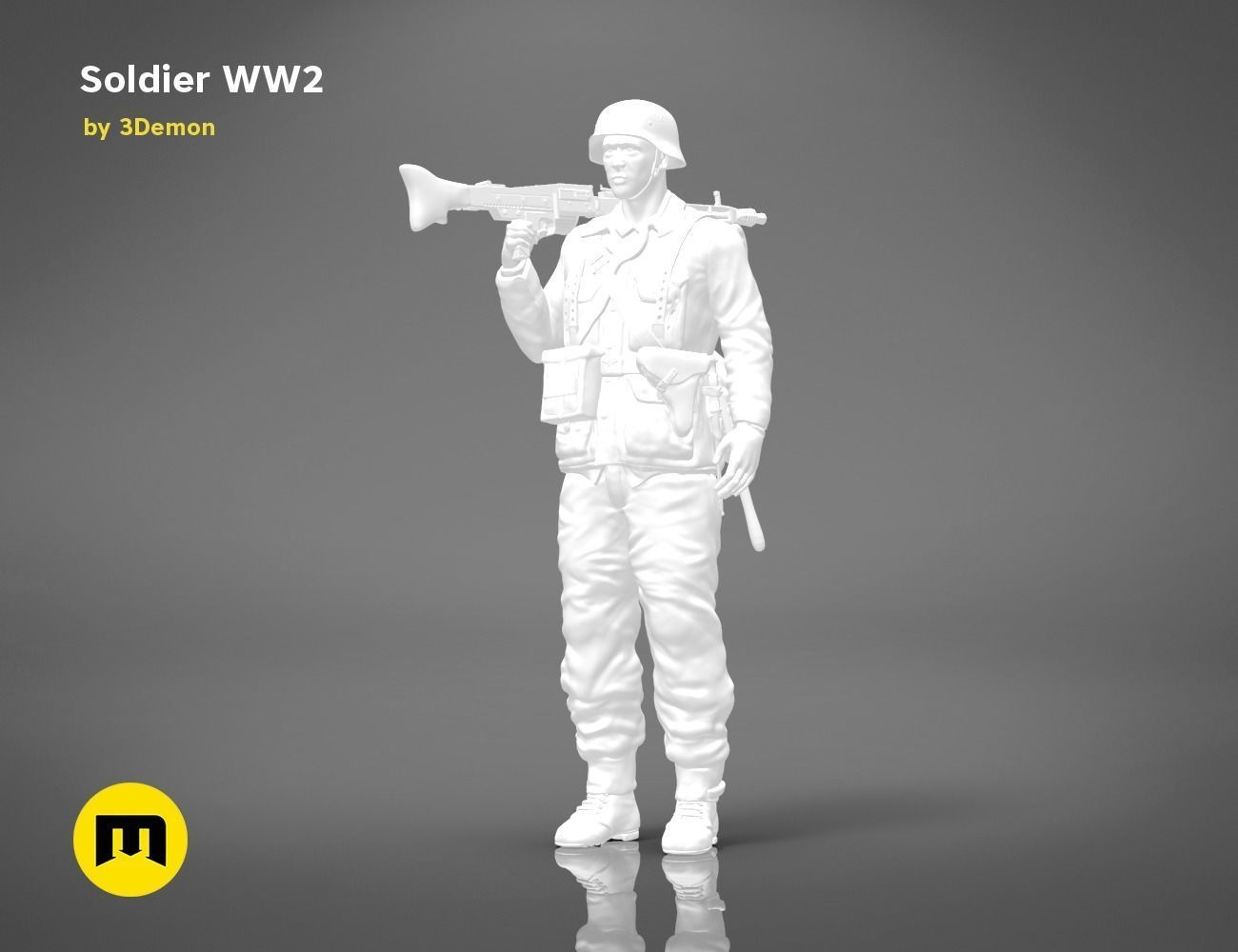 Soldier of World War 2  FIGURE