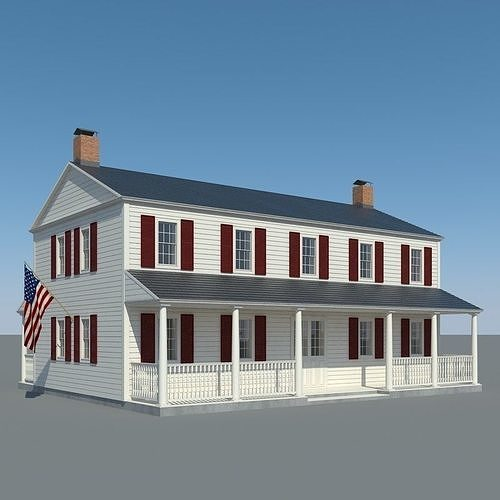 Colonial House 002
