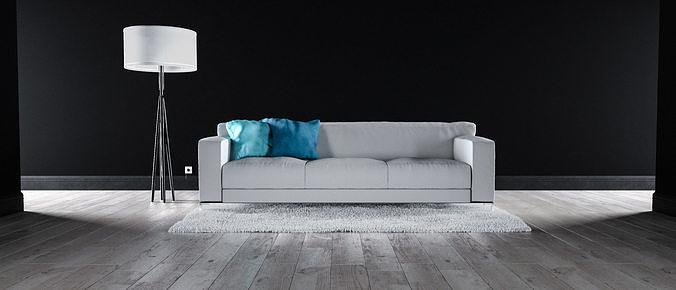 Sofa set - Interior Furniture 03