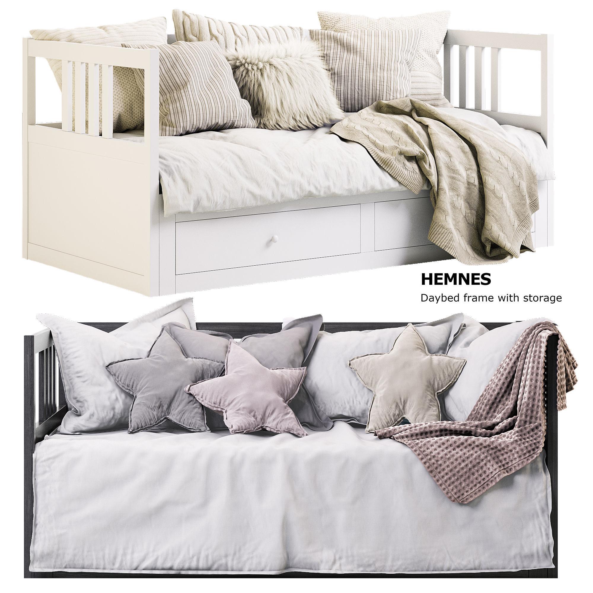 - Children HEMNES Daybed Ikea 3D Model CGTrader