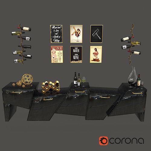 Coast Range Cabinet Set