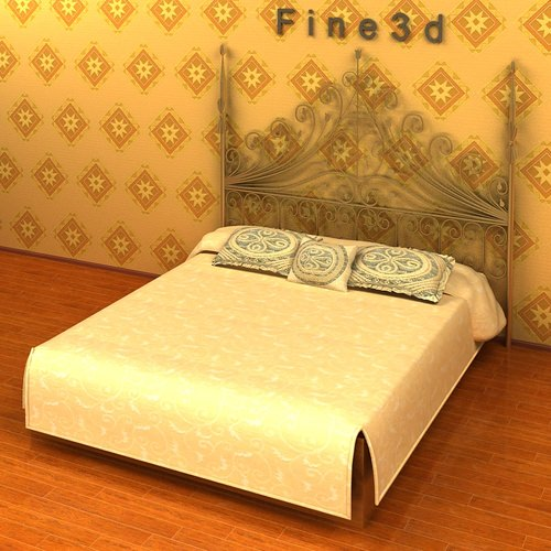 King size bed collection 3d model max obj 3ds cgtrader com