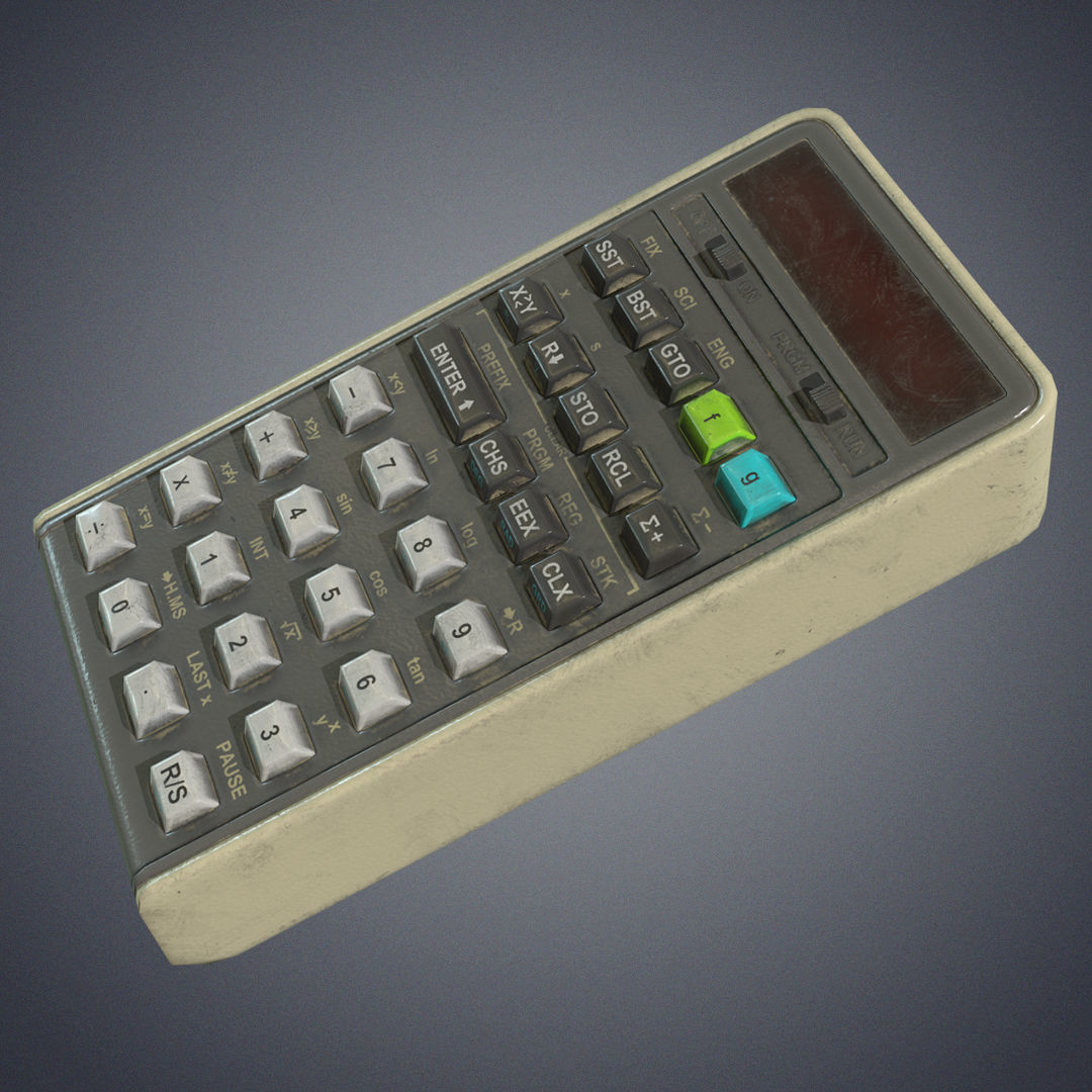 Calculator retro