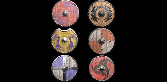 Viking Shield  Pack1