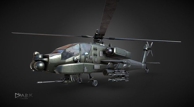 Apache AH-64 Attack Helicopter