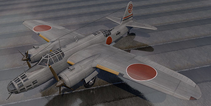 Nakajima Ki-49 Donryu - aka Helen