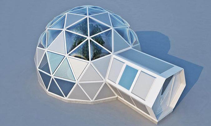 Geodome House