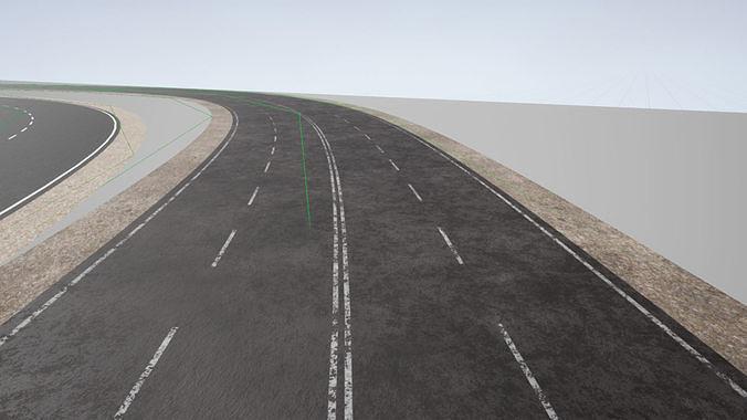 Advanced Road Materials - UE4