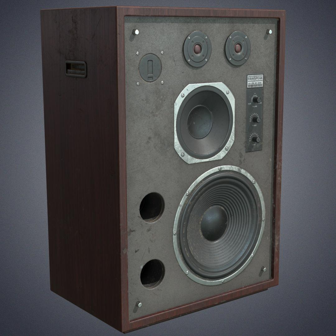 Speaker retro