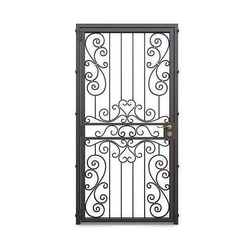 Wrought iron gate 05