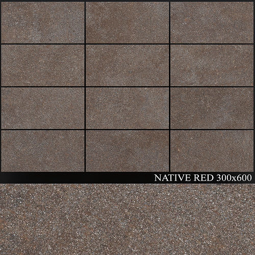 ABK Native Red 300x600