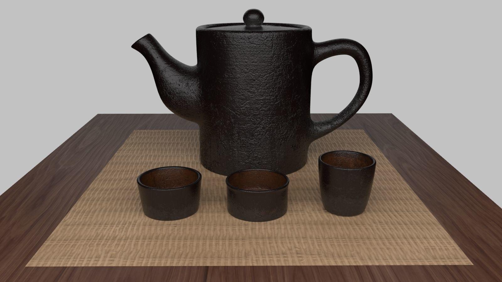 Tea Scene